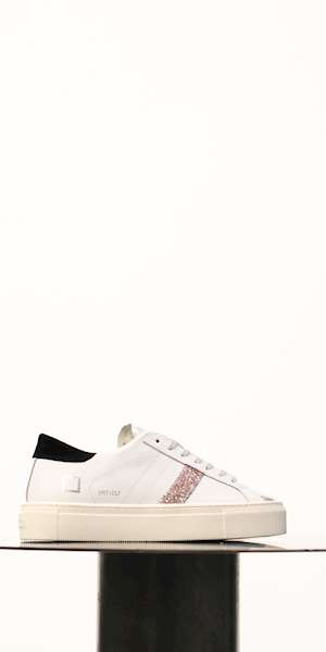 SNEAKERS D.A.T.E. VERTIGO CALF WHITE-BLACK