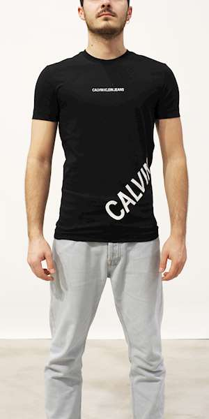 T-SHIRT CALVIN KLEIN STRETCH LOGO FASHION