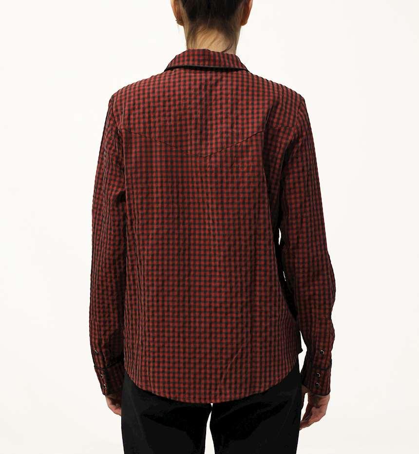 CAMICIA SCOTCH&SODA CHECKED SHIRT DRESS