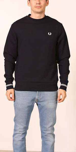 FELPA FRED PERRY CREW NECK