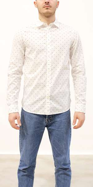 CAMICIA SCOTCH&SODA REGULAR FIT-CLASSIC ALL-OVER PRINTED