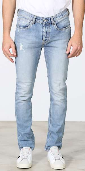 JEANS UNIFORM IBANEZ BLUE DENIM SLIM FIT