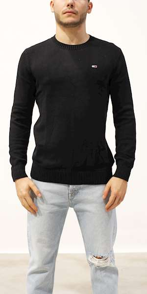 MAGLIONE TOMMY HILFIGER TJM ESSENTIAL CREW NECK SWEATER