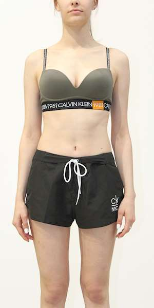 REGGISENO CALVIN KLEIN PLUNGE PUSH UP /WIRE