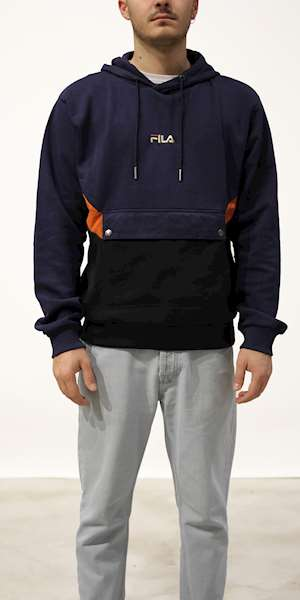 FELPA FILA MEN WALTER BLOCKED HOODY