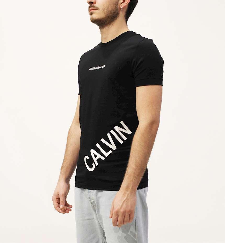 T-SHIRT CALVIN KLEIN STRETCH LOGO FASHION