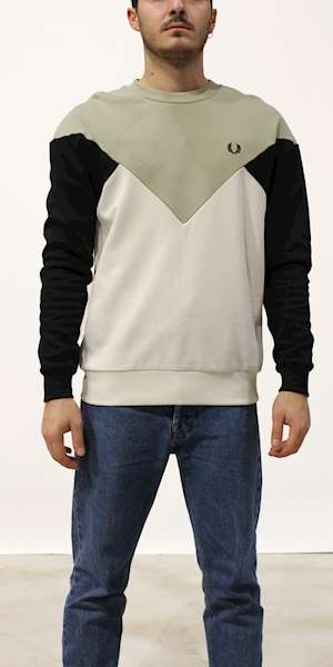 FELPA FREDPERRY CHEVRON SWEATSHIRT
