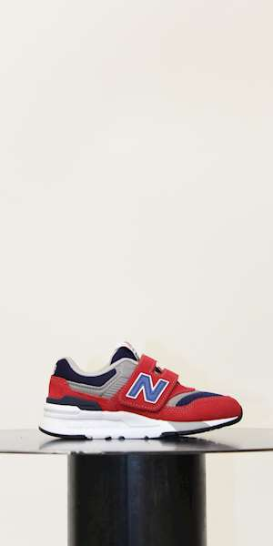 SNEAKERS NEW BALANCE SCARPA KIDS LIFESTYLE LEATHER / TEXTILE