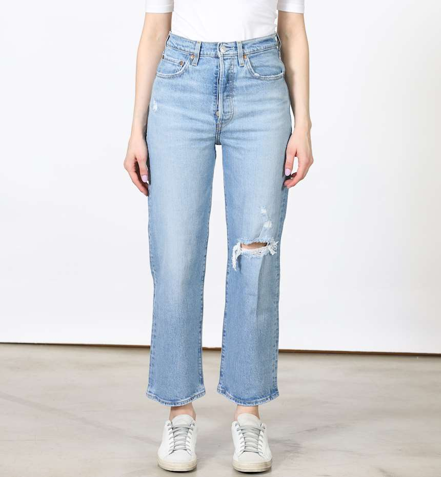 JEANS LEVIS RIBCAGE STRAIGHT ANKLE