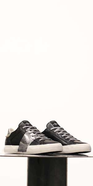 SNEAKERS CRIME LOW TOP DISTRESSED