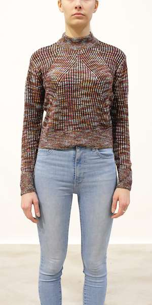 MAGLIONE SCOTCH&SODA LIGHTWEIGHT KNIT WITH COLOR MELANGE OUTLOOK