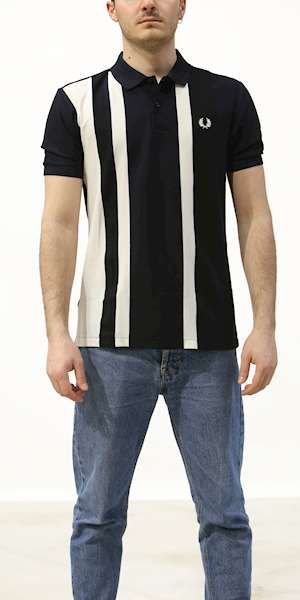 T-SHIRT FREDPERRY STRIPED
