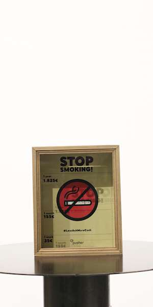 IDEA REGALO TRADING GROUP SAVING FOR - STOP SMOKING