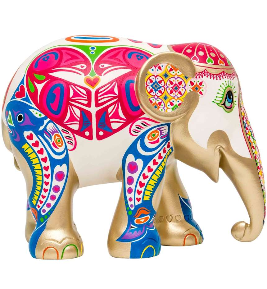 ELEPHANT PARADE LOVE WILD LOVE FREE 15 CM