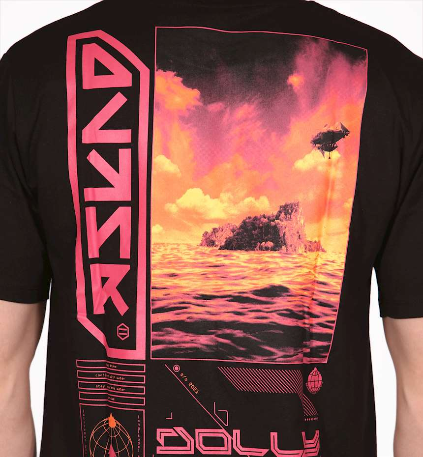 T-SHIRT DOLLY NOIRE THE ISLAND