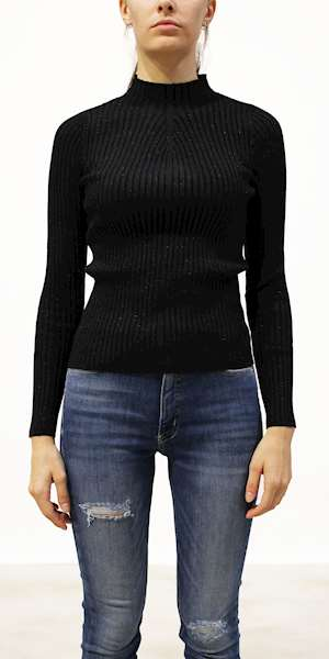 MAGLIONE GUESS EDDA TURTLE NECK SWEATER