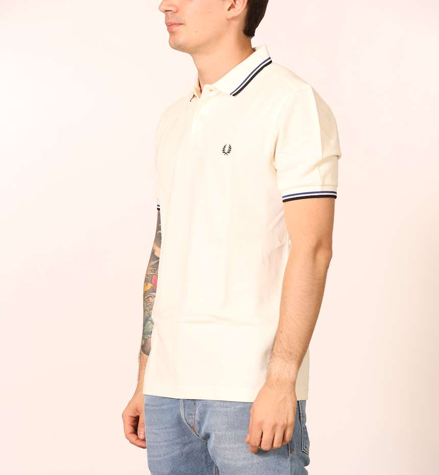 POLO FRED PERRY TWIN TIPPED
