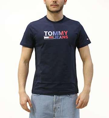 T-SHIRT TOMMYHILFIGER COLOR CORP LOGO