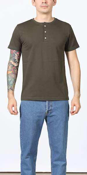 T-SHIRT POP 84 SERAFINO PLACKET