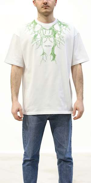 T-SHIRT PHOBIA GREEN LIGHTNING