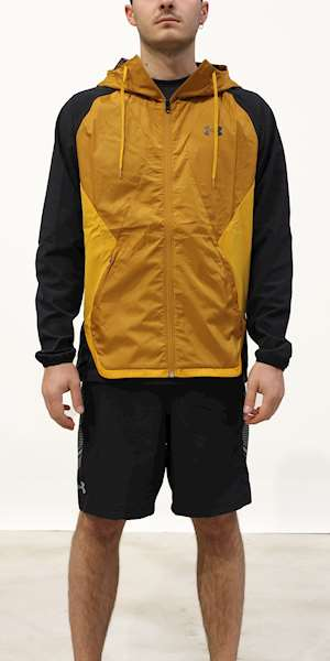 GIACCA UNDER ARMOUR STRETCH-WOVEN HOODED JACKET