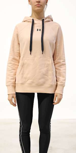 GIUBBINO UNDER ARMOUR RIVAL FLEECE HB HOODIE
