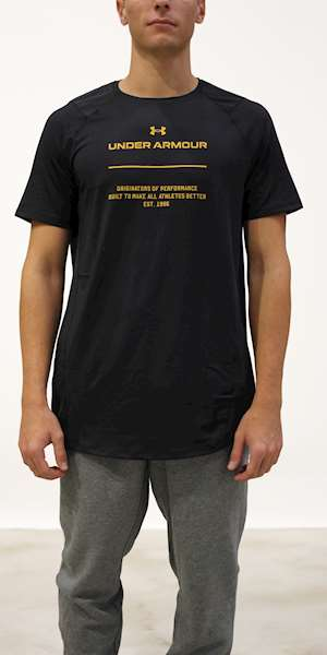 T-SHIRT UNDER ARMOUR UA MK-1 GRAPHIC SS