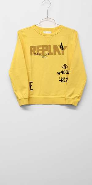 FELPA REPLAY & SONS ORGANIC FLEECE