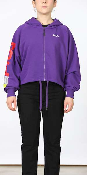 FELPA FILA WOMEN CAILYN ZIP HOODY