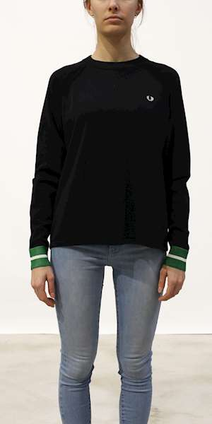 MAGLIONE FREDPERRY BOLD TIPPED JUMPER