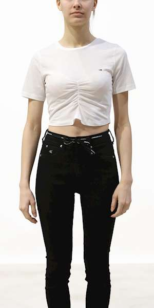 T-SHIRT TOMMY HILFIGER CROP