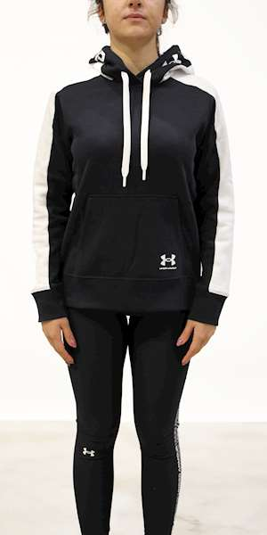 GIUBBINO UNDER ARMOUR RIVAL FLECE GRPHIC CB HOODIE