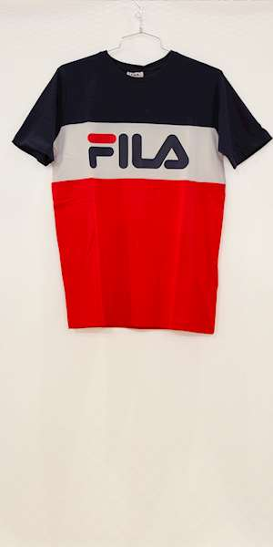 T-SHIRT FILA KIDS CLASSIC DAY BLOCKED