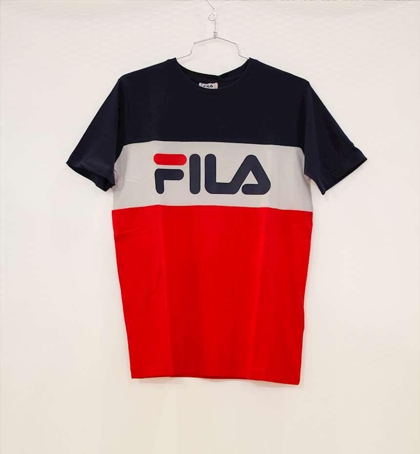 T-SHIRT FILA KIDS CLASSIC DAY BLOCKED