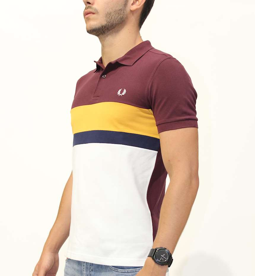 POLO FREDPERRY FP COLOURBLOCK POLO SHIRT