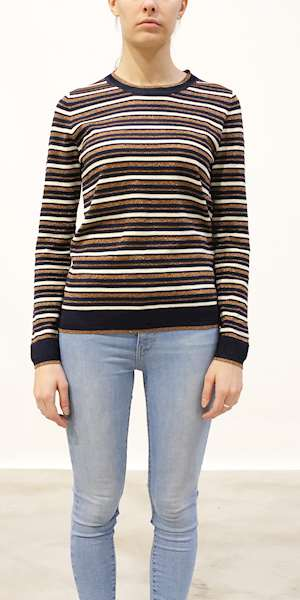 MAGLIONE SCOTCH&SODA BASIC STRIPED PULLOVER