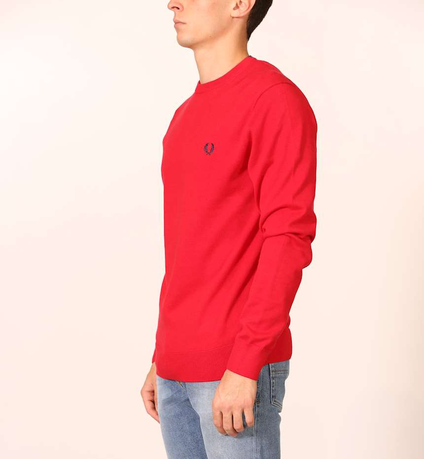 FELPA FREDPERRY FP CLASSIC COTTON CREW NECK JMPR