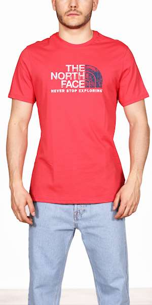 T-SHIRT THE NORTH FACE RUST 2