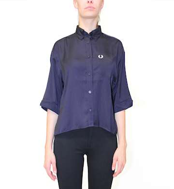 CAMICIA FRED PERRY OVERSIZE