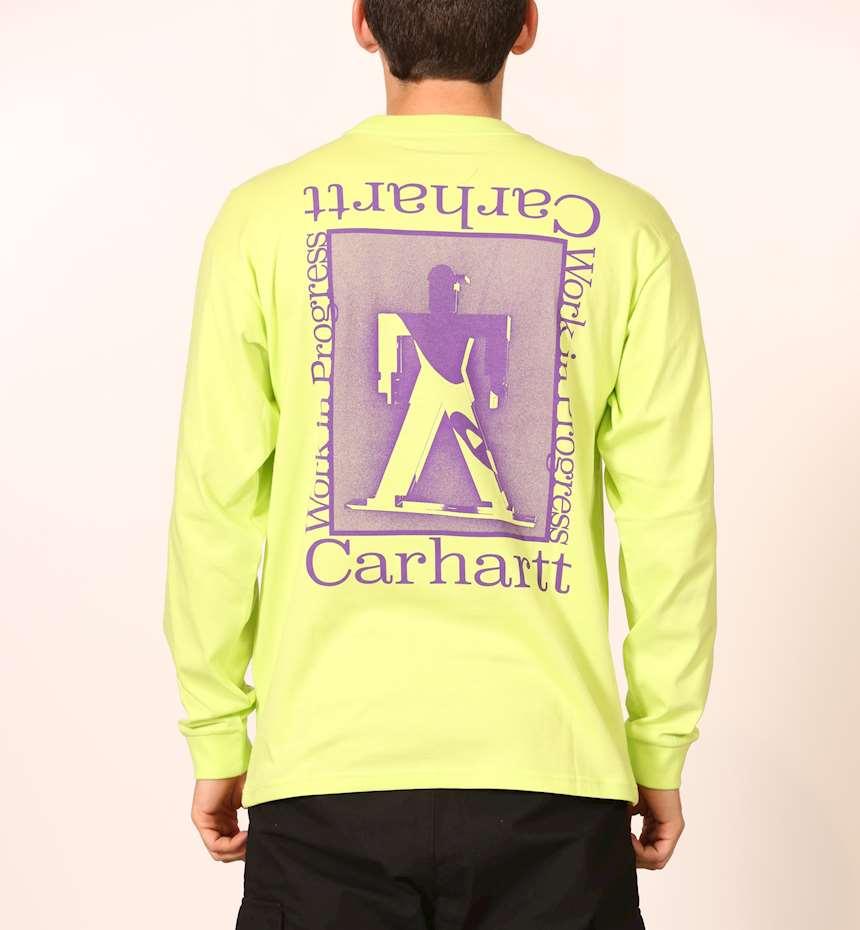 T-SHIRT CARHARTT L/S FOUNDATION