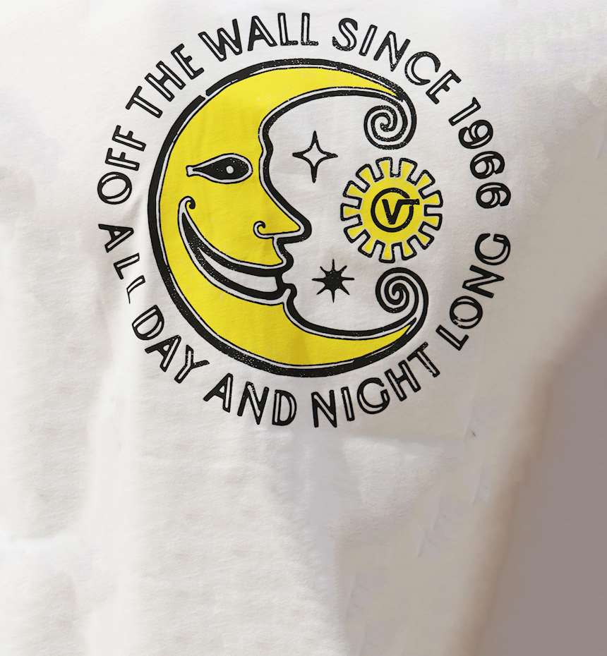 T-SHIRT VANS DAY AND NIGHT