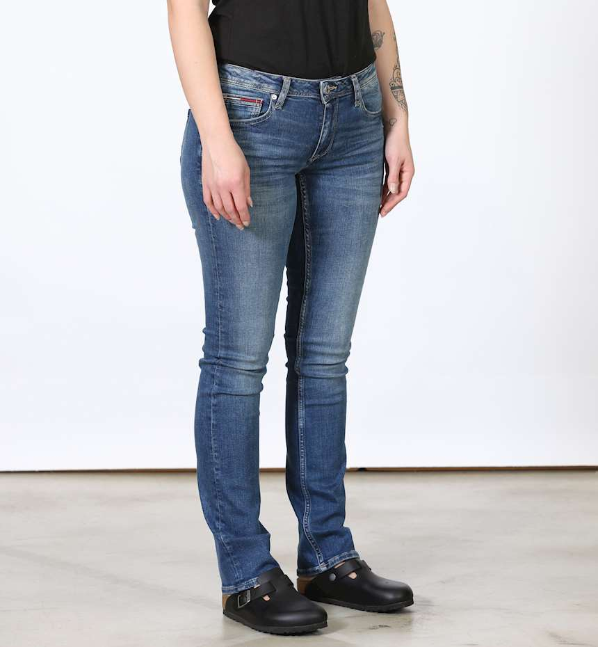 JEANS TOMMYHILFIGER MID RISE STRAIGHT SANDY