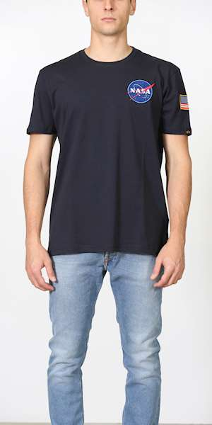 T-SHIRT ALPHA INDUSTRIES SPACE SHUTTLE T