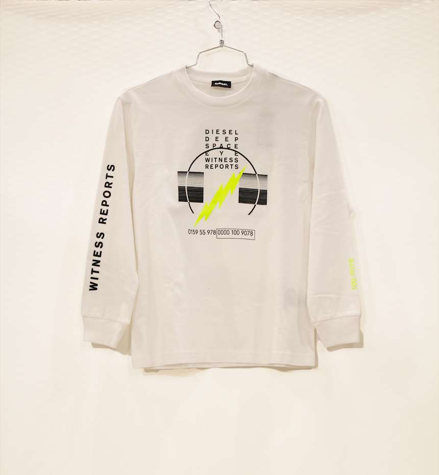 T-SHIRT A MANICA LUNGA DIESEL OVER