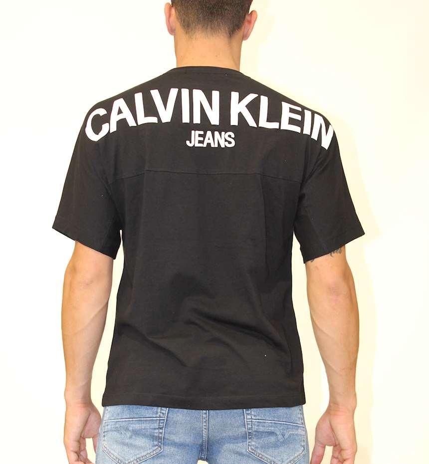 T-SHIRT CALVIN KLEIN PUFF PRINT BACK LOGO T-SHIRT