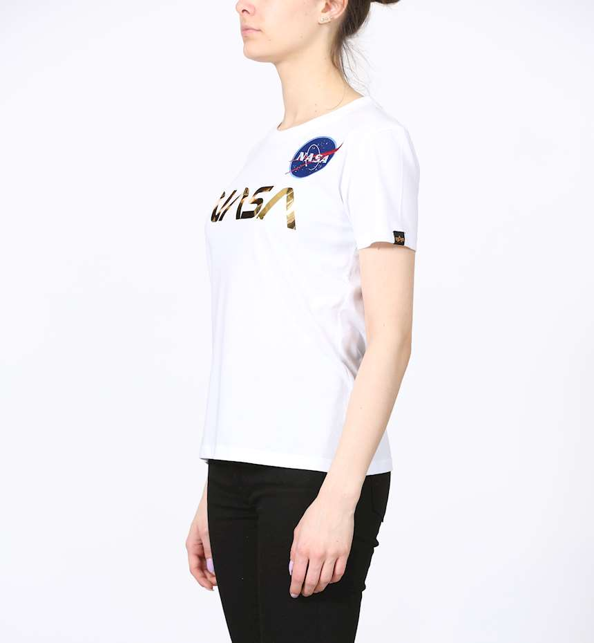 T-SHIRT ALPHA INDUSTRIES NASA