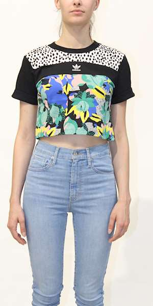 T-SHIRT ADIDAS CROPPED TEE