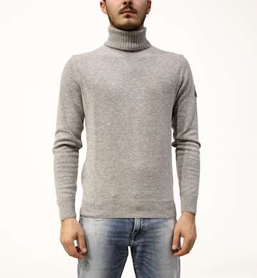 MAGLIONE ROY ROGERS TURTLE NECK MAN WOOL & CASHMERE FIN.12