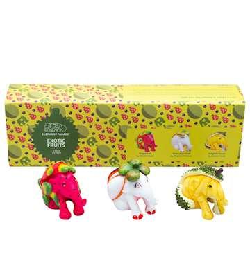 SET ELEPHANT PARADE EXOTIC FRUITS