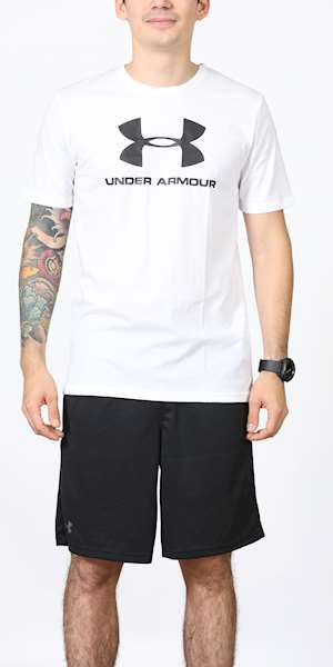T-SHIRT UNDER ARMOUR SPORTSTYLE LOGO SS